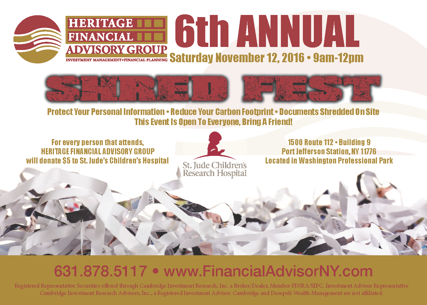 6th Annual Shred Fest Event