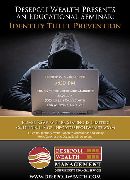 Identity Theft Prevention Event